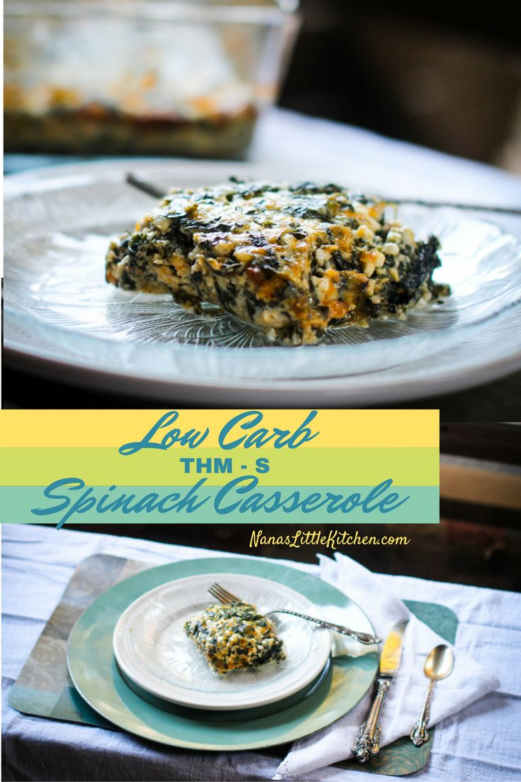 Kristen's Spinach Casserole is so nutritious that it can serve as a meatless main dish, so delicious that it makes a great appetizer, and it's a great side dish!