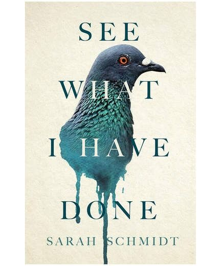 What Have I Done, by Sarah Schmidt   Schmidt's debut novel tells a fictionalized version of the scandalous murders of Andrew and Abby Borden in 1892. From the outside, the Bordens look like a picture-perfect family, so when Lizzie Borden finds her father and stepmother dead, friends and neighbors are left in shock.