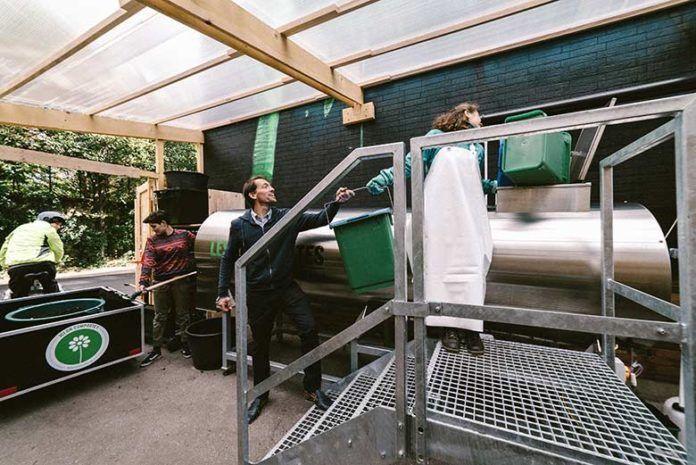 Paris : « On fait de l'Or Noir avec nos déchets organiques »