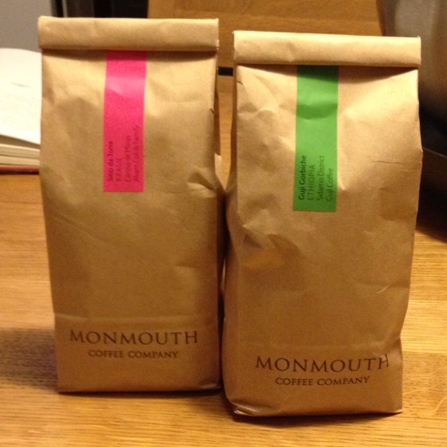 The Best Coffee is by Monmouth.