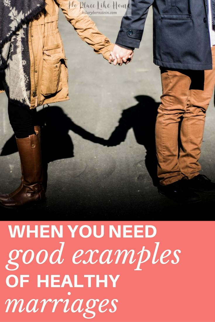 Your marriage can be refreshed - and helped! - by following the examples of healthy marriages. #marriage #wives