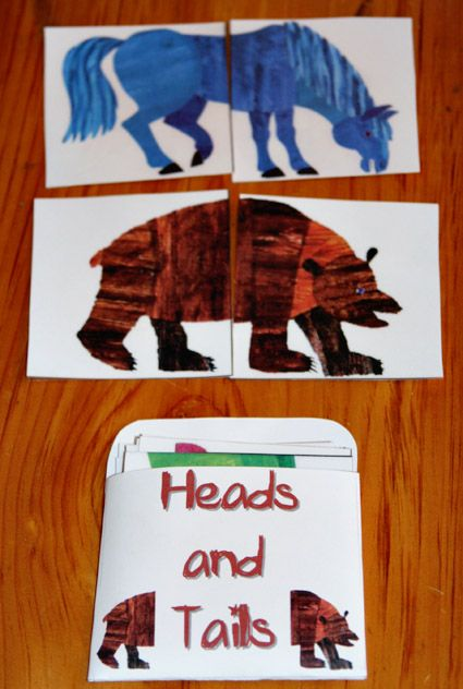 "Awesome free pre-k - kinder activities for"" Brown Bear,Brown Bear""."