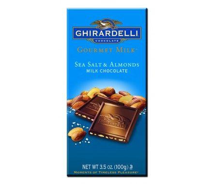 Sea Salt & Almonds Milk Chocolate Bar