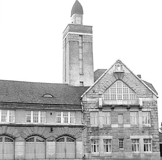 Fire Station in Tampere, Finland (build in 1907.)