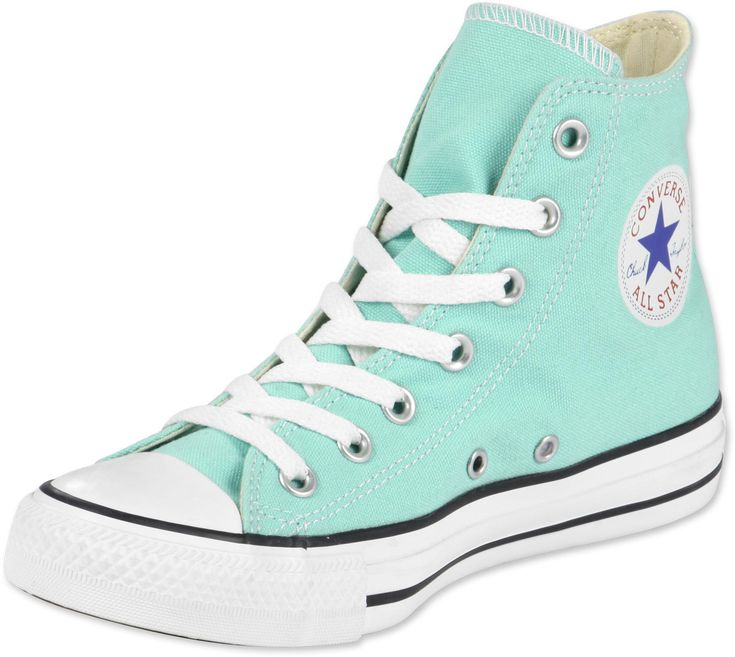 Blue/green high tops!!