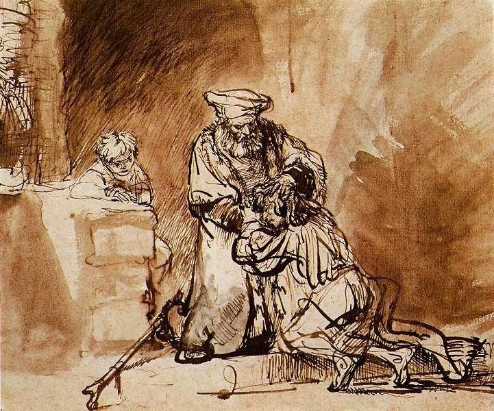Rembrandt Harmensz. van Rijn: De terugkeer van de verloren zoon (1642)