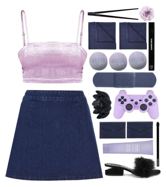 """""""https://www.youtube.com/watch?v=RNficMqYOmI"""" by taraturk ❤ liked on Polyvore featuring Topshop, Cara, Alexander Wang, Danielle Nicole, Kate Somerville, Edward Bess, Sia, JCPenney Home and CB2"""
