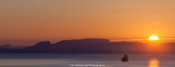 Sunrise over the Giant