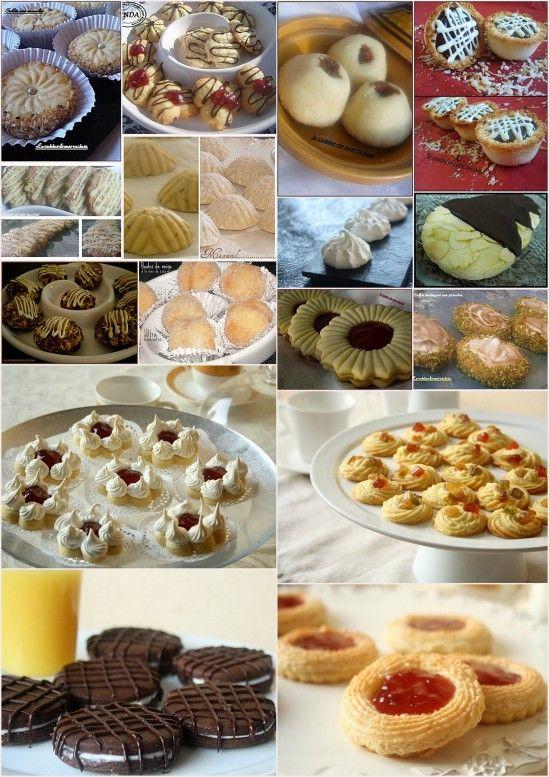 Gâteaux secs algeriens pour l'aid -Les Gateaux secs algeriens ont une place primordial sur nos plateaux de l'aid ,voici un récapitulatif de tout