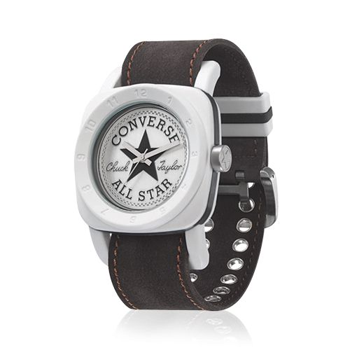 Converse - 1908 Premium - Stainless steel screw in back case, White hands, Pin buckle.