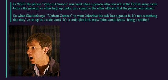 FINALLY! A clear explanation for this! It's about damn time. Vatican cameos