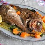 Συνταγή: Φαγκρί με λαχανικά στο φούρνο | Συνταγούλης