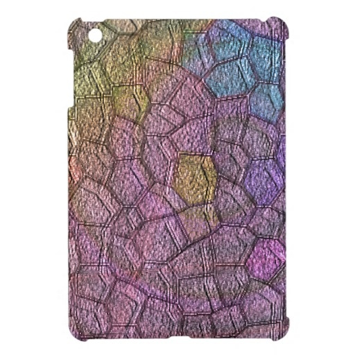 Colored stones iPad mini case