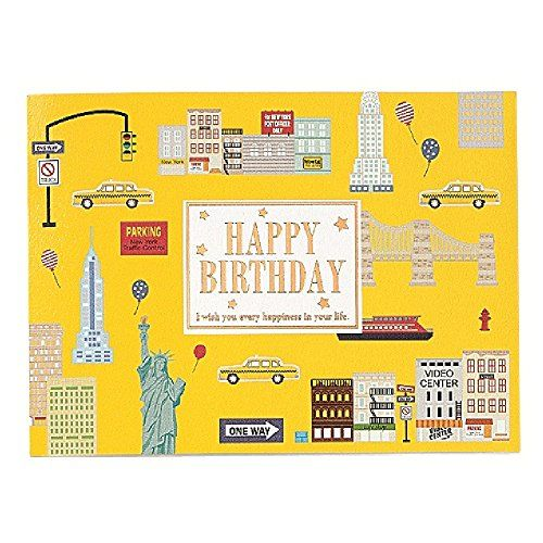 169 best Premium Birthday Greeting Cards images – New York Birthday Card
