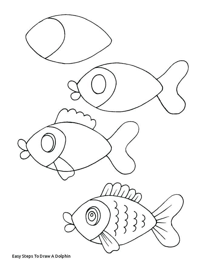 Easy Animal Drawing Tutorials Danquahinstitute Org Easy Animal Drawings Easy Fish Drawing Drawing Tutorial
