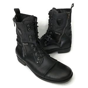 J75 by Jump  Men's Combat Boots Size 12 Thunder Cup Toe Lace Up Zipper Black EUC in Clothing, Shoes & Accessories, Men's Shoes, Boots | eBay