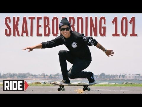 ▶ How-To Ride a Skateboard - BASICS with Spencer Nuzzi - YouTube