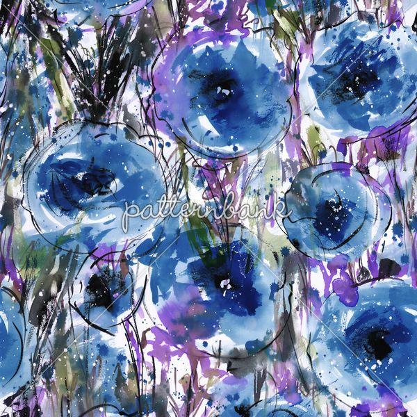Hand Print Florals Design -24