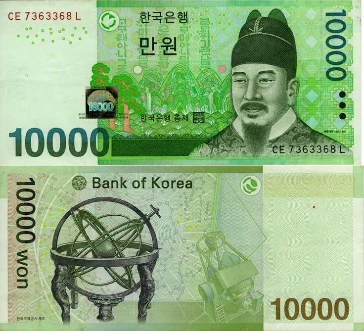 South Korean Money | South Korea Money