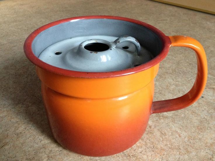 Oranje Melkkan (is overigens te koop voor de liefhebber)