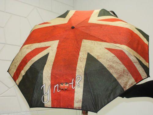 Ombrello antivento Y NOT automatico apri e chiudi stampa Bandiera Inglese http://stores.ebay.it/delissac-2sstore
