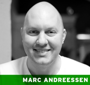 Marc Andreessen On The Future Of Enterprise - great list of hot new startups