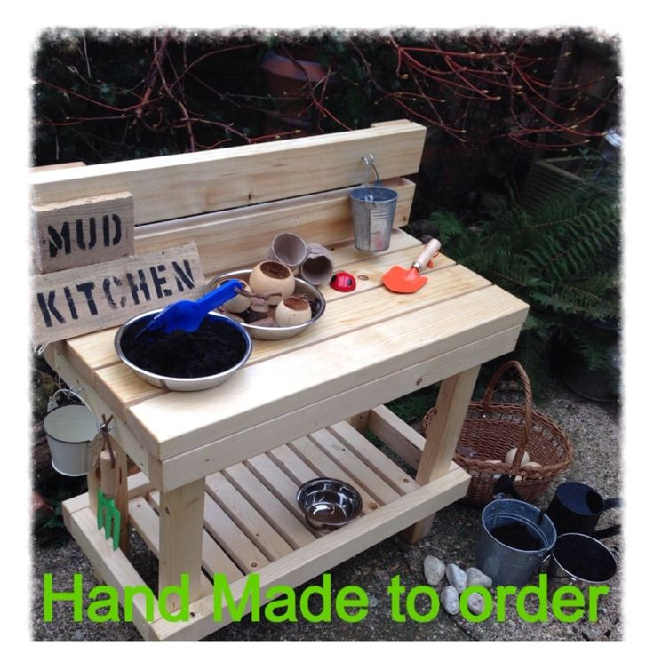 Mud Play Kitchen Outdoor childminder nursery parents eyfs ofsted garden £99 each & postage  contact me to buy 07958622295