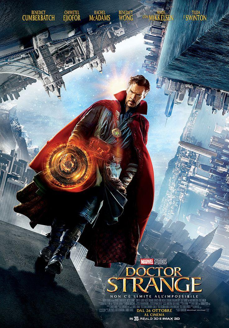 Doctor Strange Poster ufficiale italiano Marvel
