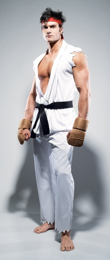 Street Fighter Ryu Costume - Adult Costume