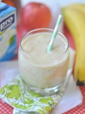 Almás-banános turmix, laktózmentes recept nem csak laktózérzékenyeknek