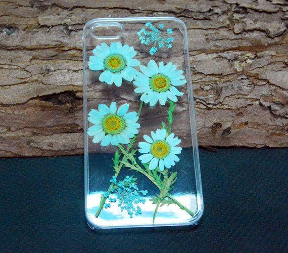 Unique Daisy iPhone 6 CasePressed flower Phone by UUniquecase