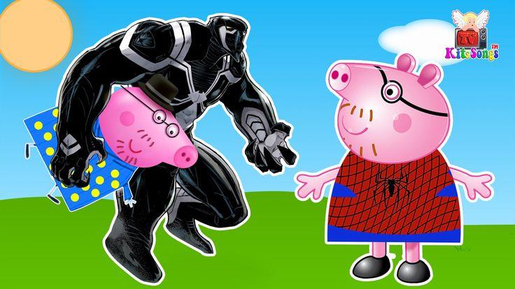 #Peppa Pig #Venom #PJ Masks Full #Spider-Man #Finger Family ❤ Nursery Rhymes For Children