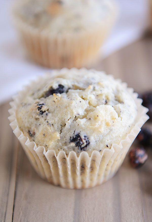Blueberry Cream Cheese Muffins