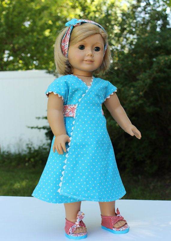 1930's+Reversible+Dress+made+for+American+Girl+by+BrooksideLane,+$36.00