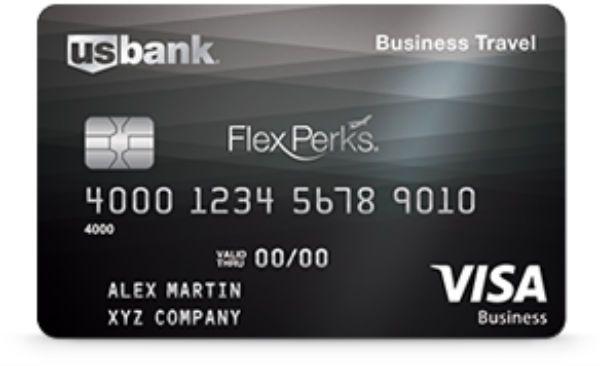 U.S. Bank FlexPerks Business Travel Rewards Visa Card Travel