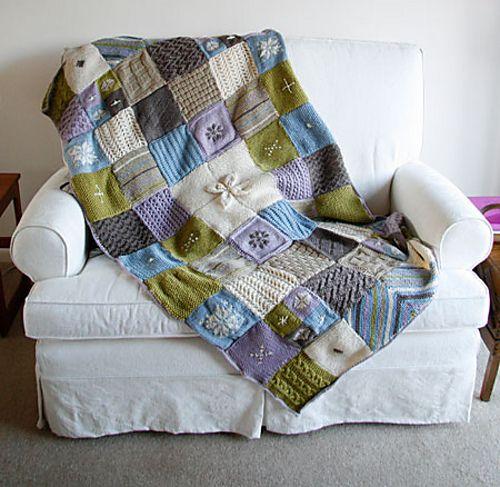 Ravelry: Scandinavian-style throw pattern by The Art of Knitting Magazine
