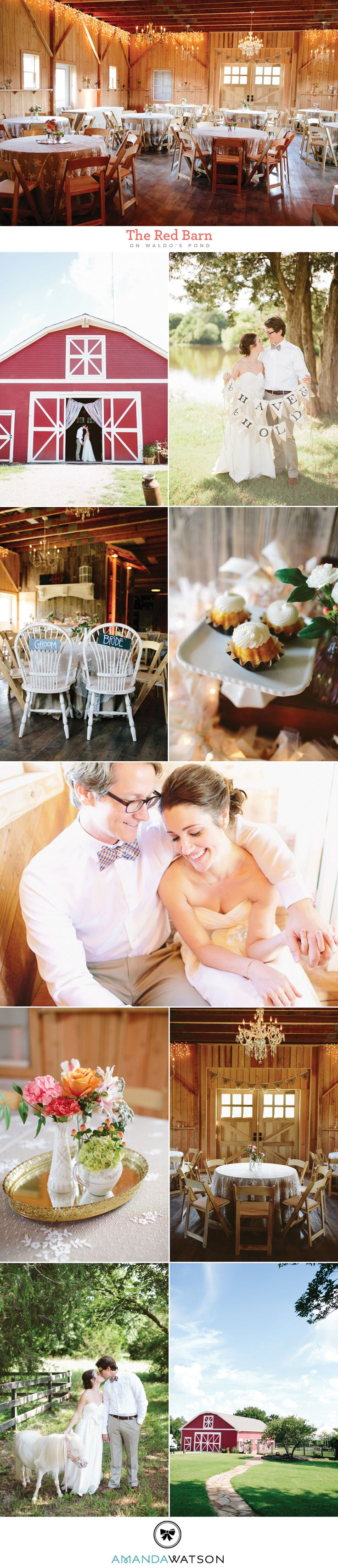 Luxe Location: The Red Barn on Waldo's Pond | Brides of ...