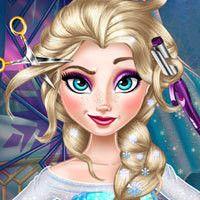 Elsa Frozen Real Haircuts - Sweetie Girl Games