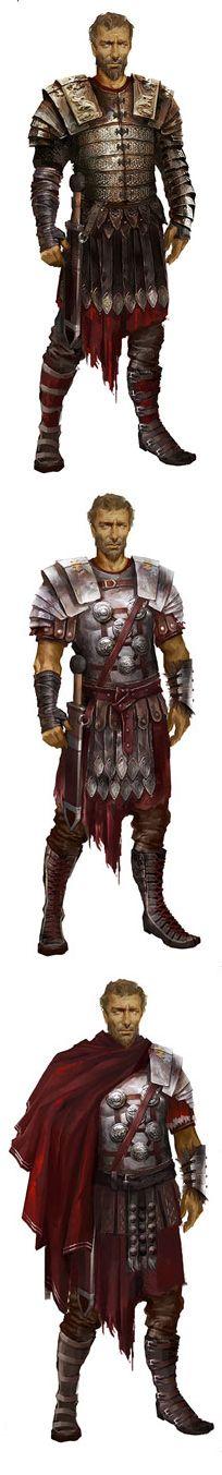 A general. Looks like jorah mormont