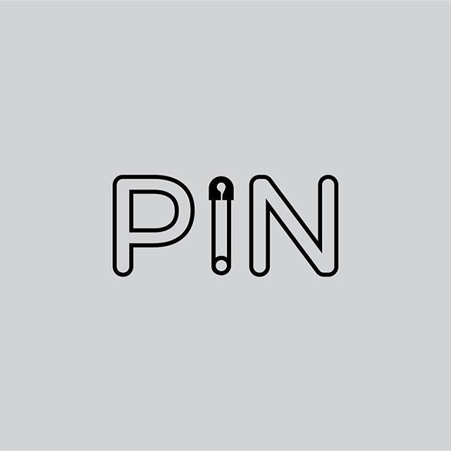 This design is creative because it is a pin of the word pin that has a pin in it. #identity #other