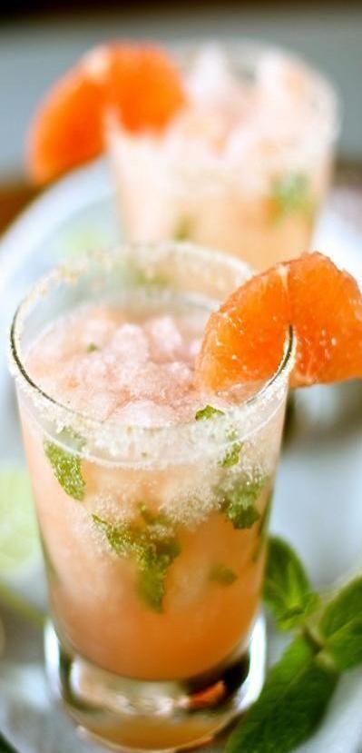 pink grapefruit mojito ♥✤ | Keep the Glamour | BeStayBeautiful