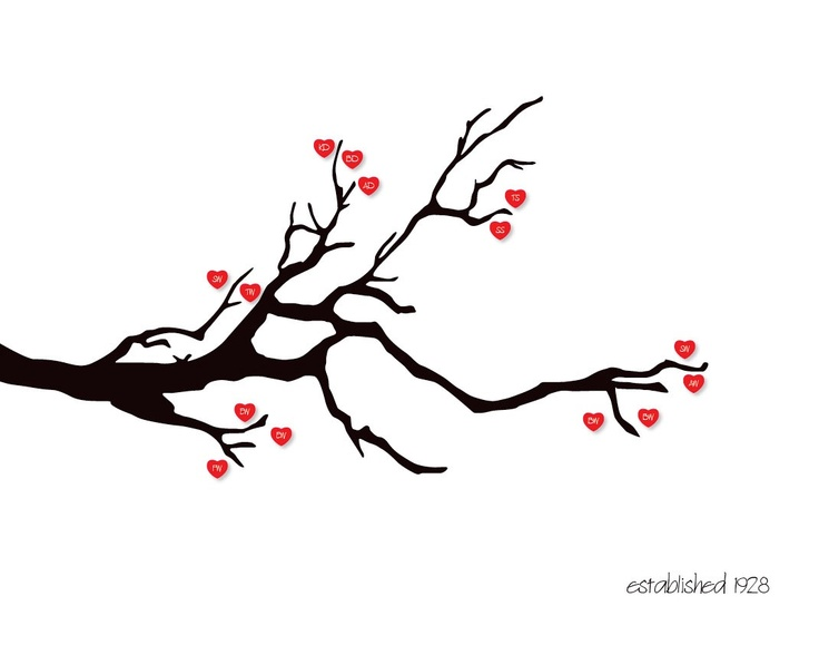 Captivating Kissing Bird On Tree Branch With Red Heart Leaves Posters | Popular Pet  Gifts | Pinterest | Leaves, Bird And Tattoo