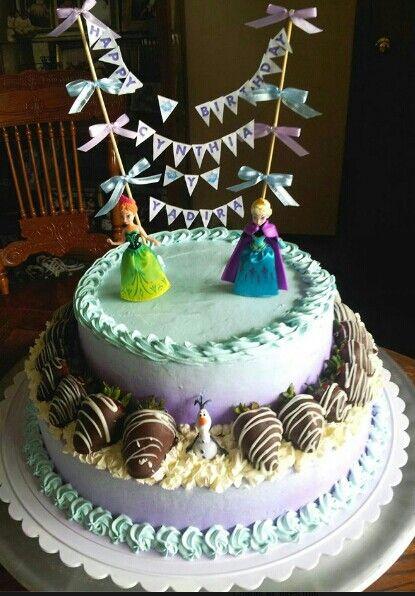 Frozen birthday cake  cakes  Pinterest  Frozen birthday cake ...