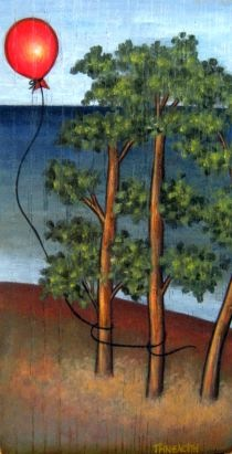 η κοσμική λαϊκή ζωγραφική και οι συνθέσεις της αγιογράφου βασίζονται ιδιαίτερα στο παλιό ξύλο (που ακόμη και αζωγράφιστο διηγείται ιστορίες σ' όσους ξέρουν να το διαβάζουν), προκαλούν ανάκληση μνήμης και αποτελούν φόρο τιμής σε μάστορες παλαιότερων ημερών.