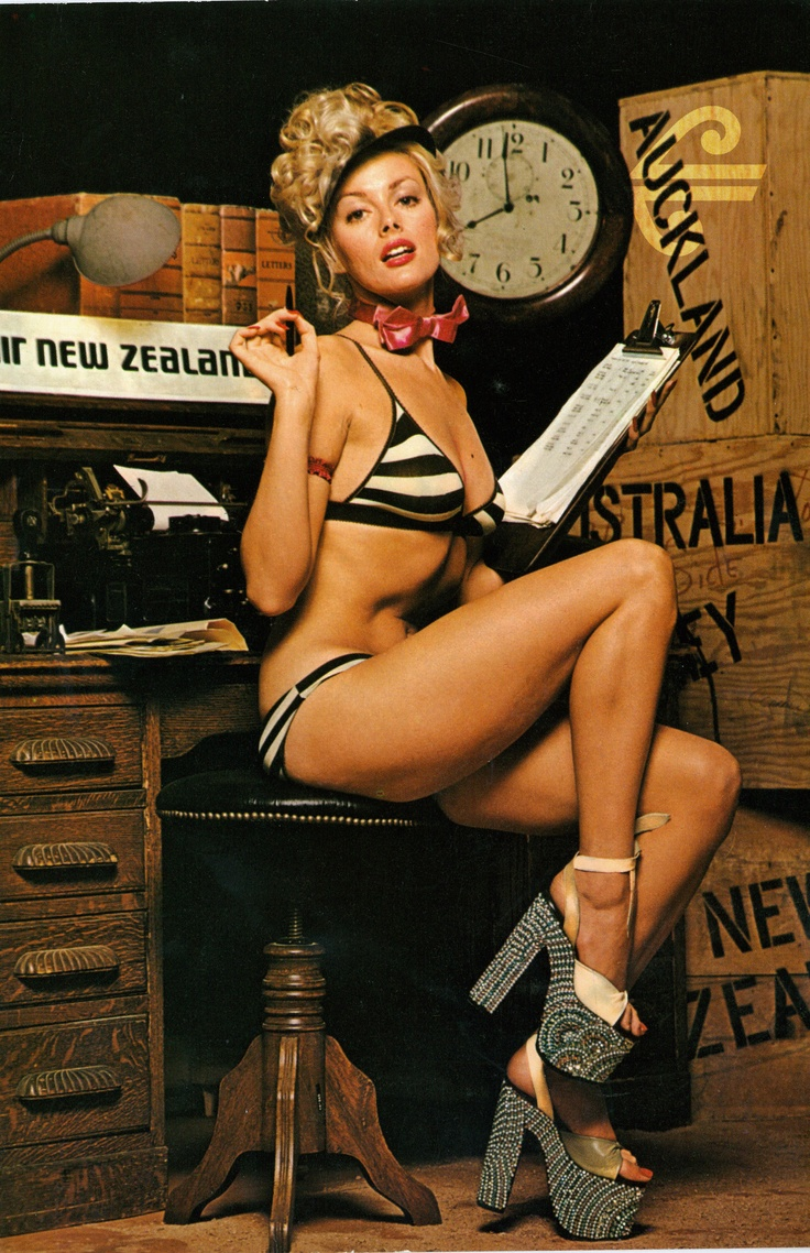An ad campaign for Air New Zealand Cargo in the mid 1970's