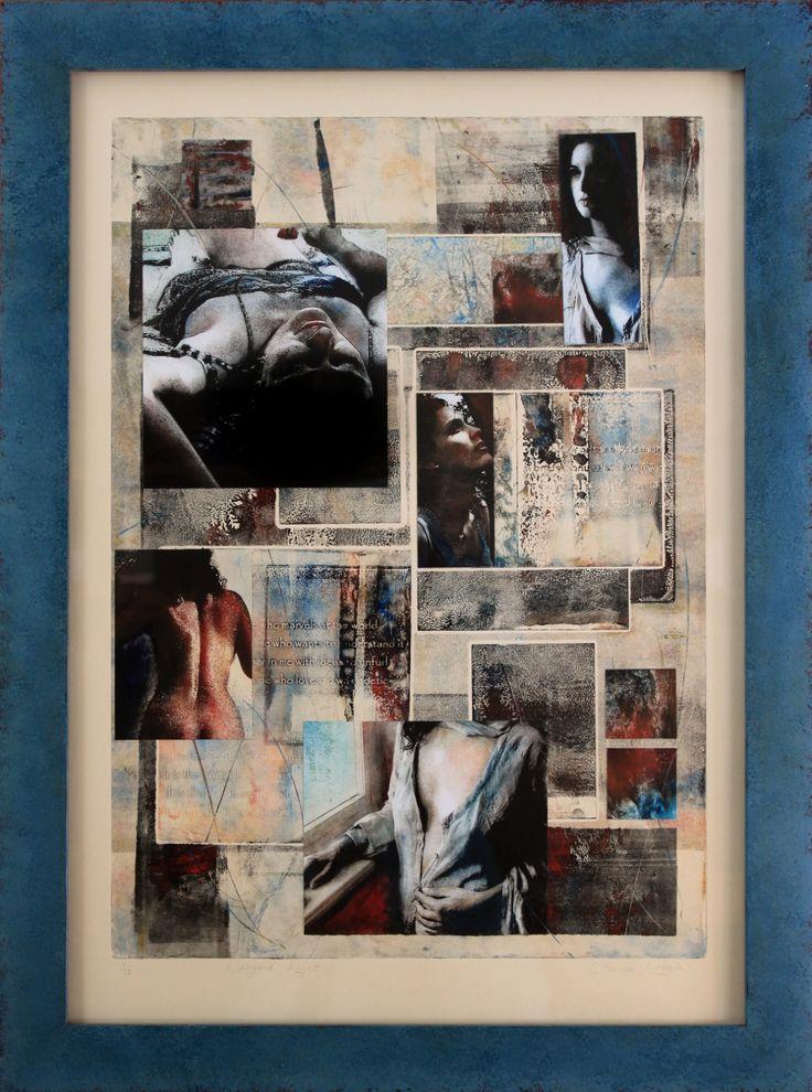 Languid Light, framed