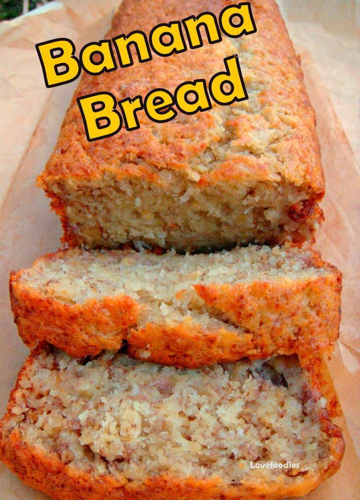 Deliciously soft Banana Bread. Great flavors and easy to follow instructions…