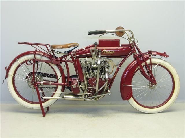 1916 Indian Powerplus motorcycle