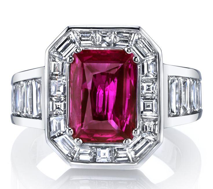 Descenza Emerald Rings