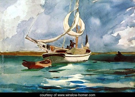 a literary analysis of breezing up by winslow homer Breezing up (a fair wind) artist winslow homer year 1873–76 medium oil on canvas location national gallery of art, washington, dc dimensions 242 in × 38 in 615 cm × 97 cm famous paintings by winslow homer snap the whip the gulf stream breezing up (a fair wind) right and left the fox hunt eight.